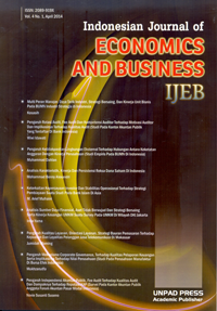Indonesian Journal of Economics and Business